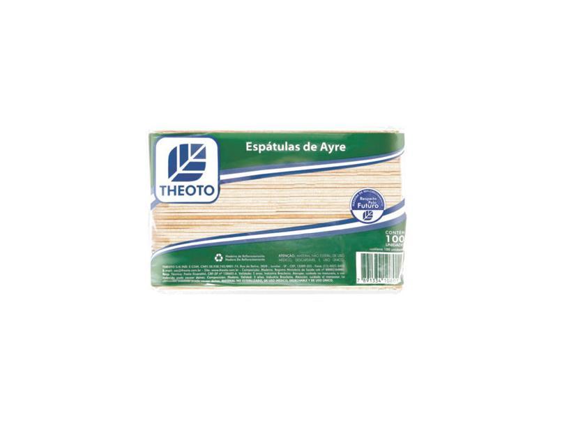ESPÁTULA DE AYRES C/100 - MATERIAL HOSPITALAR - MATERIAIS HOSPITALARES - Modelo Hospitalar
